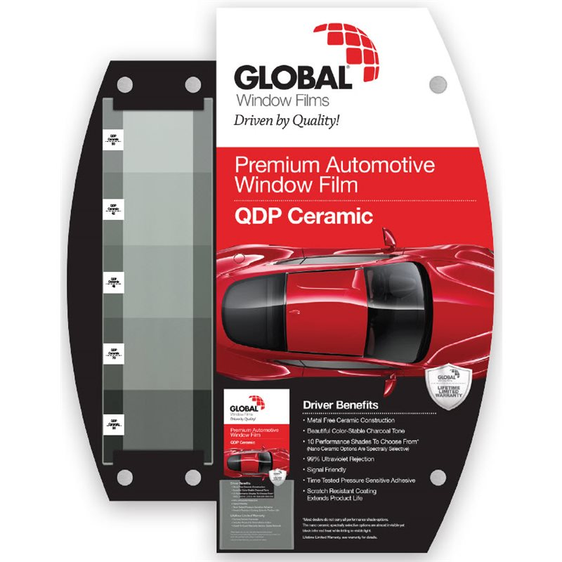 Global Window Film Wall Mount Displays