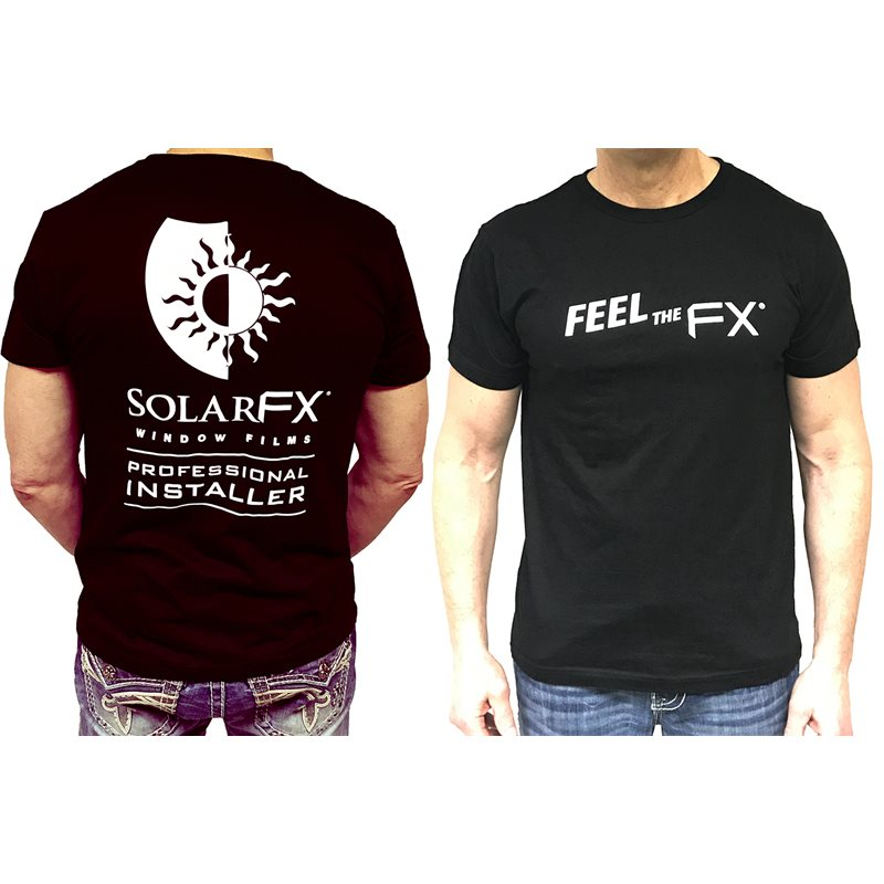 "SolarFX Men's Black ""Feel the FX"" Logo T-Shirt"