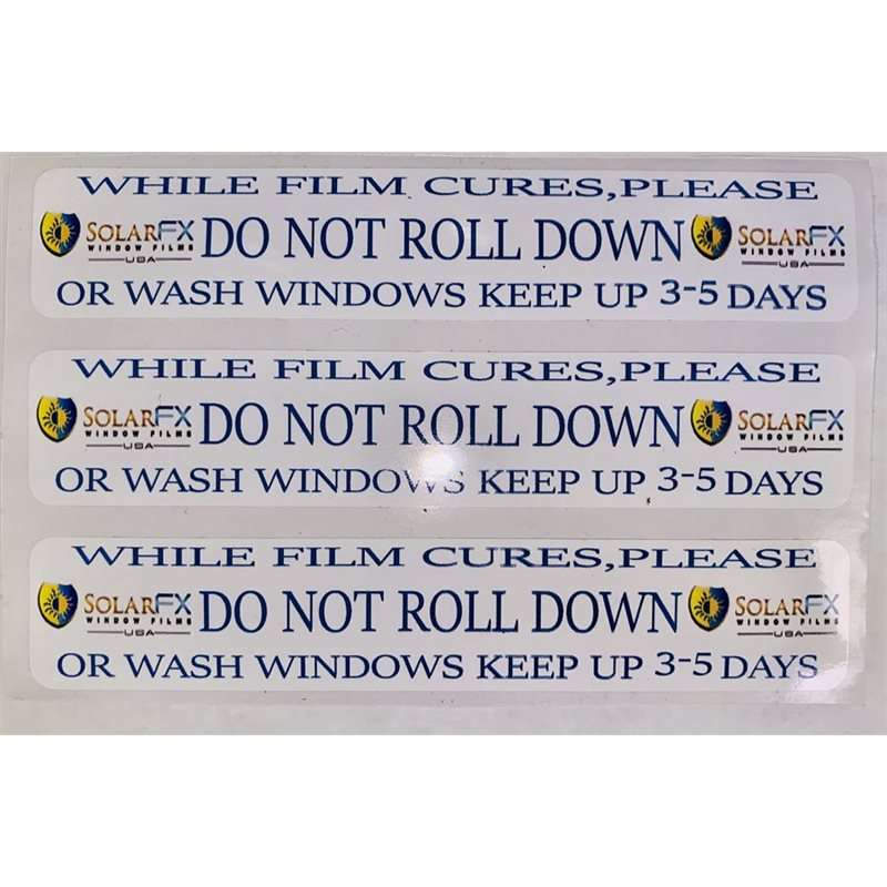 Roll Down Stickers