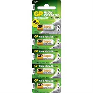 INSTALL BAY GP-23 12V REMOTE BATTERIES 5 PACK