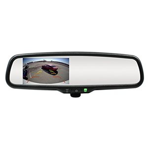 "ROSTRA - 4.3"" LCD REARVIEW MIRROR"