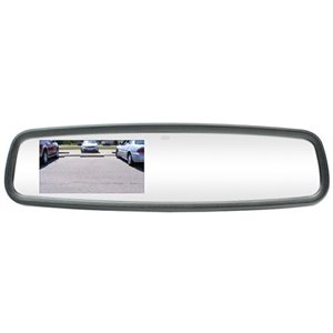 "ROSTRA - FORD MIRROR W / BUILT-IN COMPASS GYRO 3.5"" TFT"