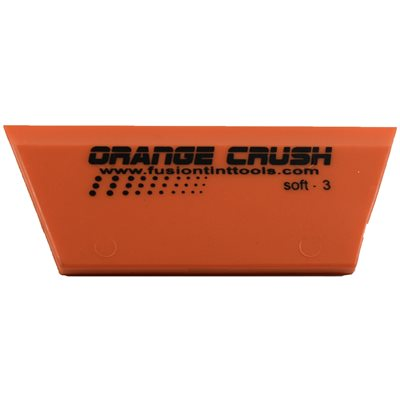 "FUSION - 5"" ORANGE CRUSH CROPPED SQUEEGEE BLADE"