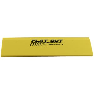 """FUSION - 8"""" YELLOW FLAT OUT SQUEEGEE BLADE"""