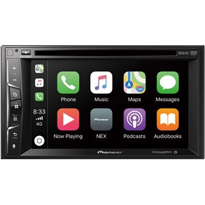 "PIONEER 6.2"" DOUBLE-DIN WITH APPLE CARPLAY"