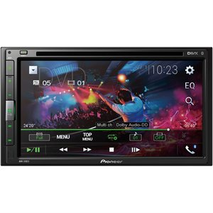 """PIONEER 6.8"""" DOUBLE-DIN WITH BLUETOOTH"""