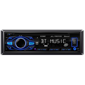 DUAL - INDASH MP3 / CD RECEIVER WITH BLUETOOTH