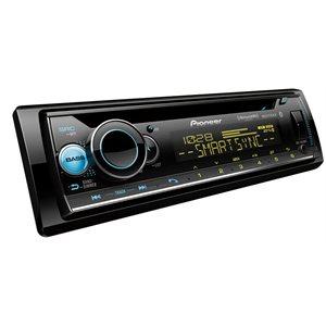 PIONEER - INDASH MP3 / CD W / BLUETOOTH & SiriusXM READY