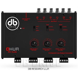 DB 6 CHANNEL LINE OUT CONVERTOR