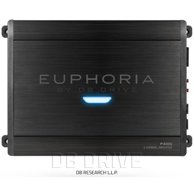 EUPHORIA 4 X 100 WATTS STEREO AMPLIFIER