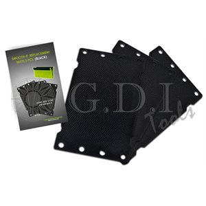 GDI - SMOOTH-IT W / BLACK MAT - 3PCS