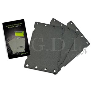 GDI - SMOOTH-IT W / GREY MAT - 3PCS