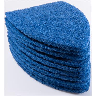 GDI - BLUE TRI-EDGE SCRUB-IT PADS (10-PACK)