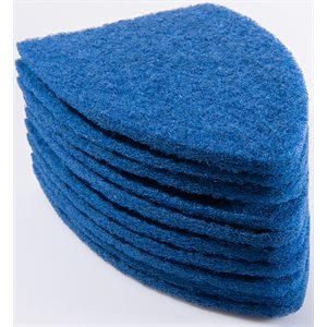 GDI - BLUE TRI-EDGE SCRUB-IT PADS (10-PACK)