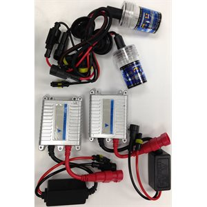 9004 SERIES HID KIT - 6000K BULBS