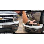 "Luxe - LightWrap Mid Smoke Shadow Chrome Roll - 2"" x 25yd - 24%VLT - Gloss"