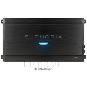 EUPHORIA 1 X 2750 WATTS @ 1 OHM D CLASS AMPLIFIER