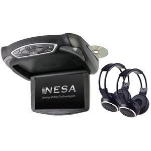 "NESA - 10.1"" MONITOR / DVD COMBO & 2-HEADPHONES"
