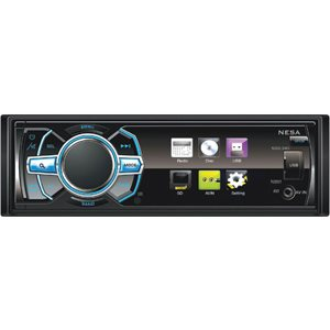 "NESA - 3.4"" SINGLE-DIN WITH BLUETOOTH"