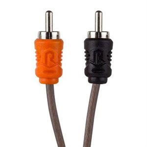 RAPTOR COAX 1-MALE 2-FEMALE RCA Y ADAPTER