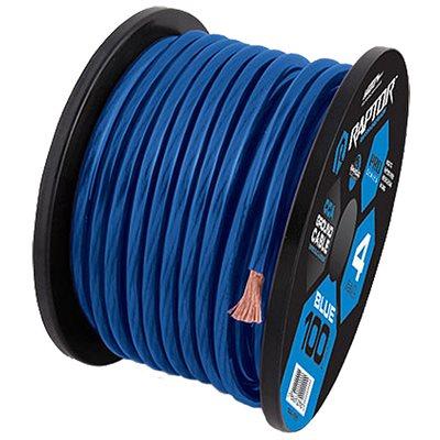 RAPTOR 100FT BLUE 4 GAUGE CCA WIRE