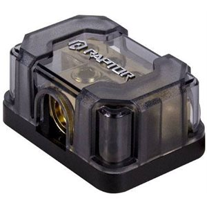 RAPTOR (1) 1 / 0 OR 4GA INPUT (1) 4GA OR 8GA OUTPUT GROUND BLOCK