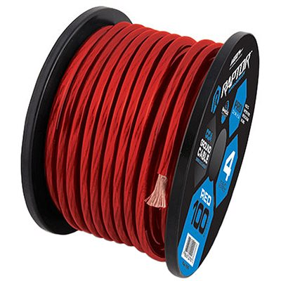 RAPTOR 250FT 10 GAUGE RED CCA WIRE