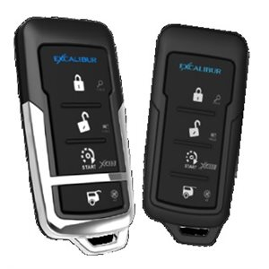 EXCALIBUR - 4 BUTTON KEYLESS ENTRY WITH REMOTE START
