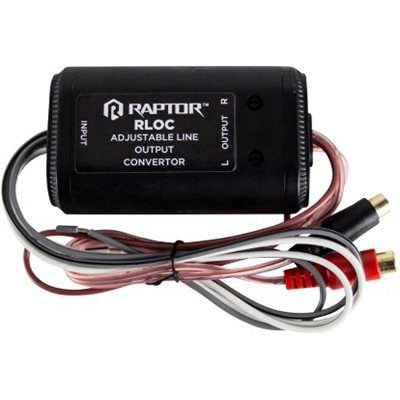 RAPTOR 2 CHANNEL LINE OUT CONVERTOR