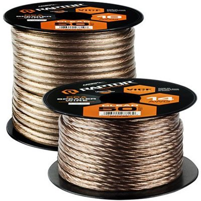 RAPTOR 50FT 14 GAUGE SPEAKER WIRE CCA
