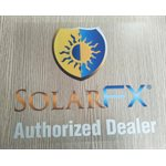 SOLARFX INSIDE WINDOW DECAL - ADHESIVE ON FRONT