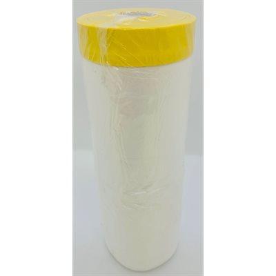 PROTECTIVE DOOR PANEL PLASTIC WITH ADHESIVE TAPE ON EDGE