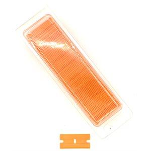 DOUBLE-EDGE PLASTIC RAZOR BLADES - BOX OF 100