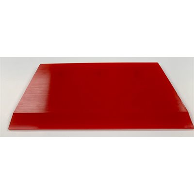 """1010 TOOLS - 5"""" CROPPED RED BLADE SQUEEGEE"""