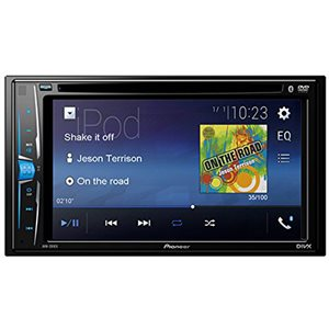"PIONEER 6.2"" DOUBLE-DIN WITH BLUETOOTH"