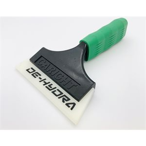 DE-HYDRA SQUEEGEE WITH SOFT-GRIP HANDLE