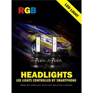 5202 RGB LED HEADLIGHT KIT